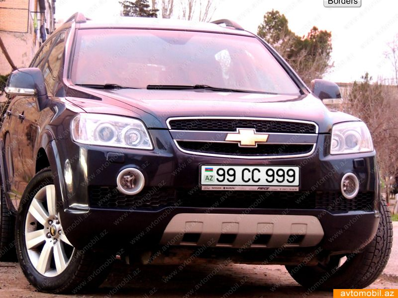 Chevrolet Captiva Urgent Sale Second Hand 2007 19999 Diesel