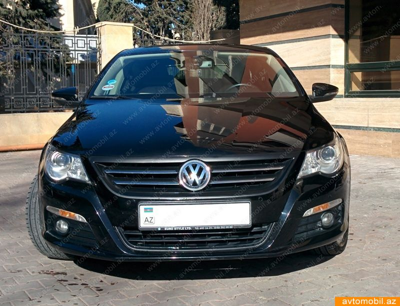 volkswagen passat cc second hand 2010 26000 gasoline transmission automatic 50600 baku. Black Bedroom Furniture Sets. Home Design Ideas