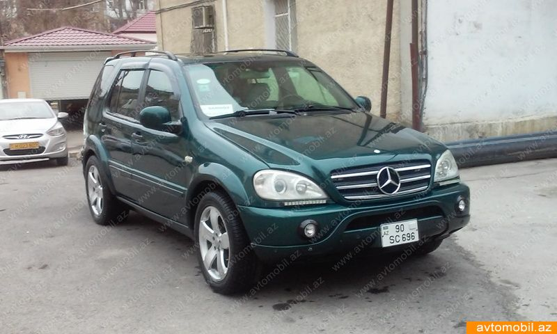 Mercedes benz ml 320 second hand 1999 9500 gasoline for Mercedes benz 1999 ml320