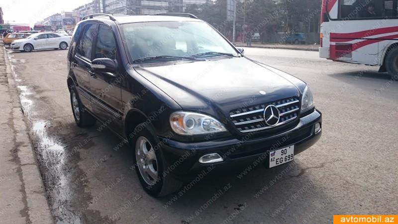 Mercedes benz ml 320 second hand 2002 14500 gasoline for Mercedes benz ml 2002