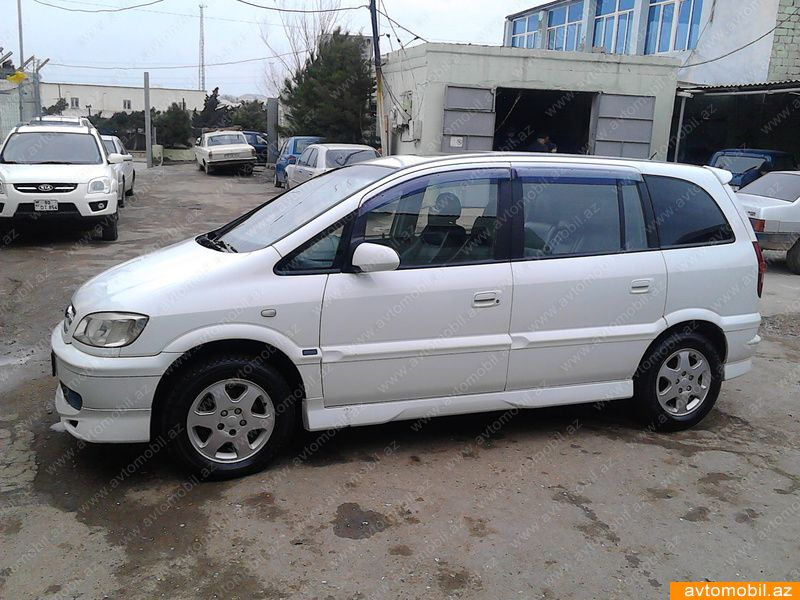 Opel Zafira Sport Second Hand  2002   10000  Gasoline