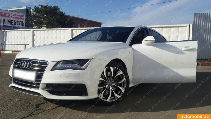 audi a7 urgent sale second hand 2011 50000 diesel transmission automatic 95000 qusar. Black Bedroom Furniture Sets. Home Design Ideas
