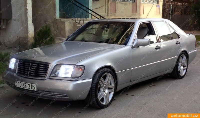 Mercedes benz s 320 urgent sale second hand 1992 7200 for Mercedes benz s320 price