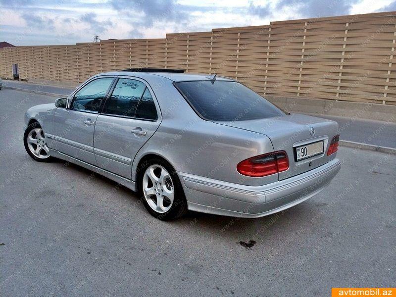 Mercedes benz e 240 avantgarde second hand 2001 11900 for Second hand mercedes benz