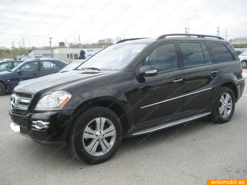 Mercedes benz gl 450 second hand 2008 32000 gasoline for Mercedes benz gl 2008
