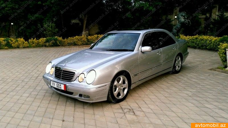 Mercedes benz e 270 avantgarde second hand 2001 13800 for Mercedes benz 2nd hand