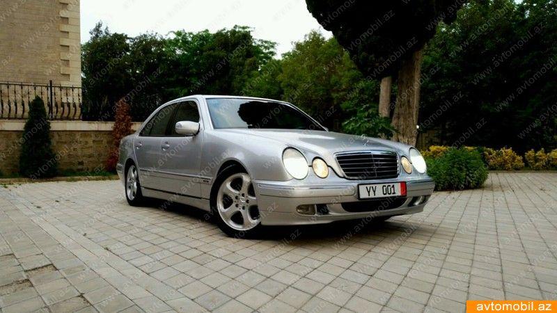 Mercedes benz e 270 avantgarde second hand 2001 13800 for Second hand mercedes benz