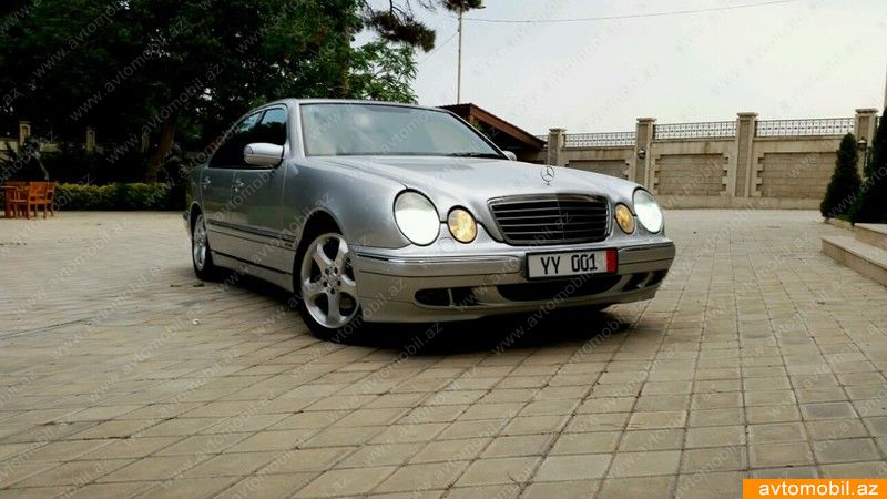 Mercedes benz e 270 avantgarde second hand 2001 13800 for 2nd hand mercedes benz
