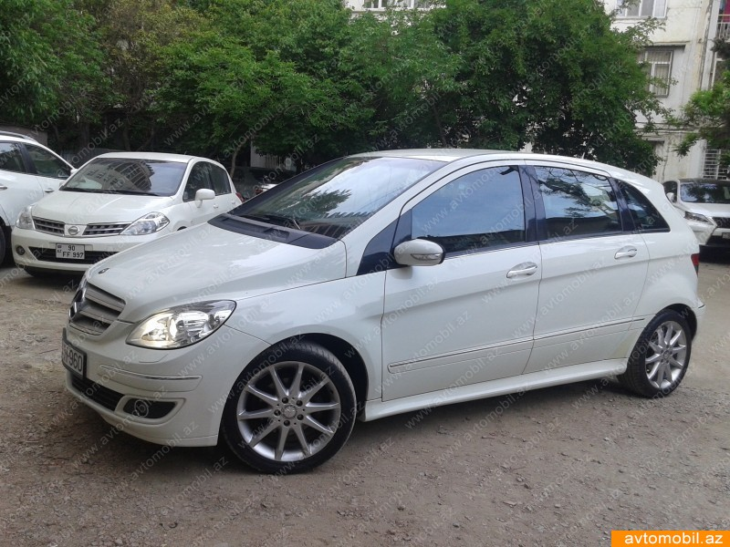 mercedes benz b class hamisi second hand 2007 12900 gasoline transmission automatic 63000. Black Bedroom Furniture Sets. Home Design Ideas