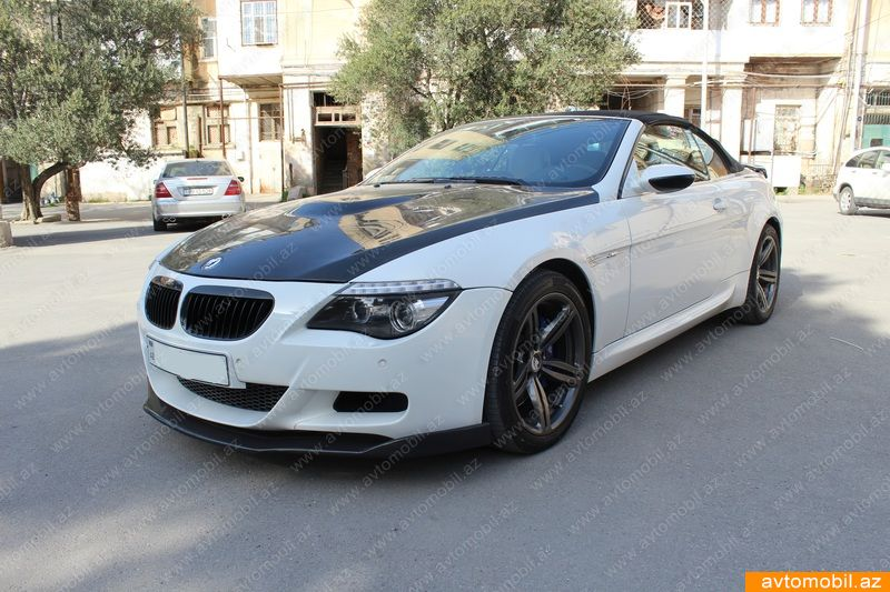 bmw m6 urgent sale second hand 2008 37000 gasoline. Black Bedroom Furniture Sets. Home Design Ideas
