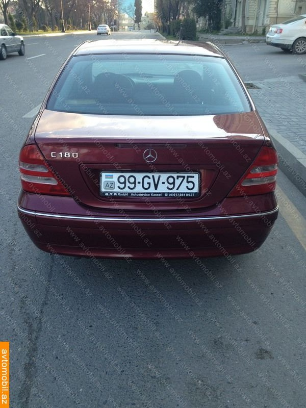 mercedes-benz c 180 elegance urgent sale second hand, 2001, $7500
