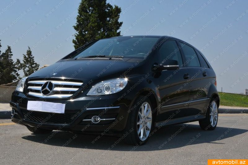 Mercedes benz b 170 urgent sale second hand 2009 11700 for Second hand mercedes benz for sale