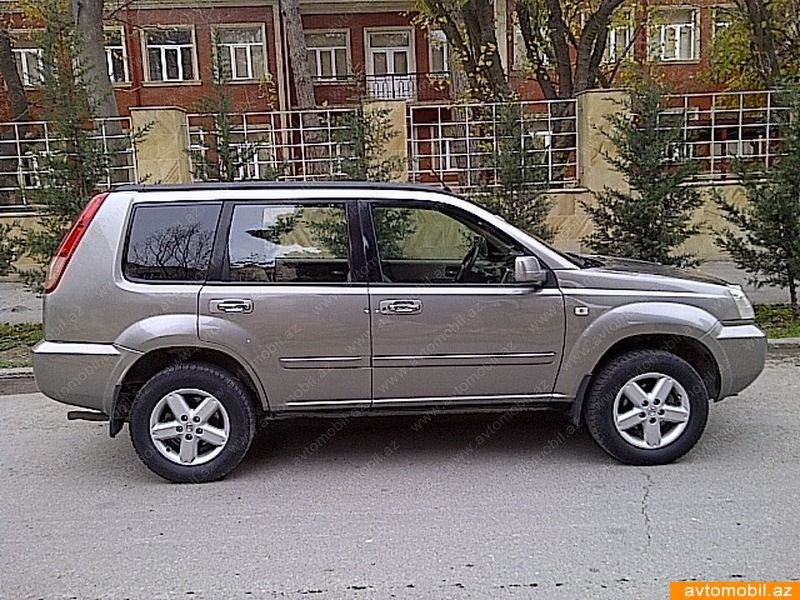 nissan x trail urgent sale second hand 2005 10000 transmission automatic 195000 baku. Black Bedroom Furniture Sets. Home Design Ideas