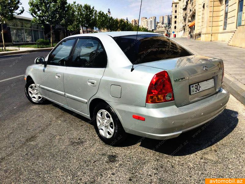 hyundai accent second hand 2005 6200 gasoline. Black Bedroom Furniture Sets. Home Design Ideas