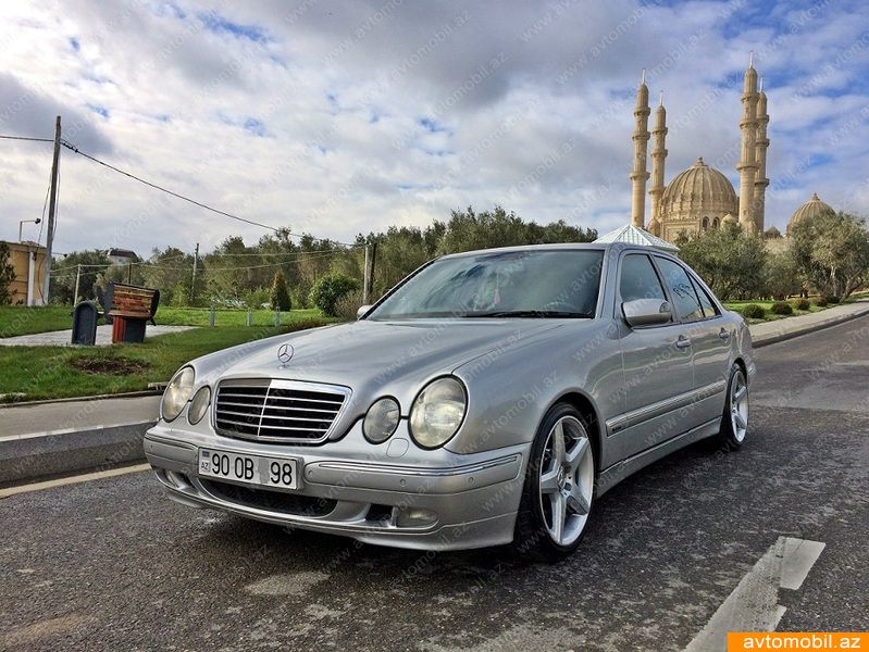 Mercedes benz e 220 avantgarde second hand 2000 10500 for Mercedes benz second