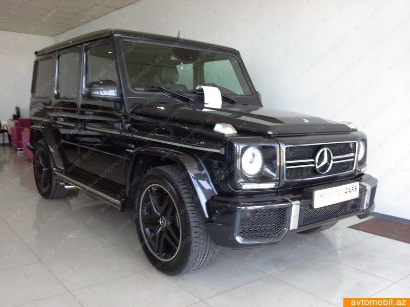 Mercedes benz g 63 amg second hand 2011 73000 gasoline for Second hand mercedes benz