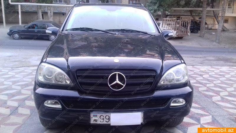 Mercedes benz ml 270 2002 for Mercedes benz 7000