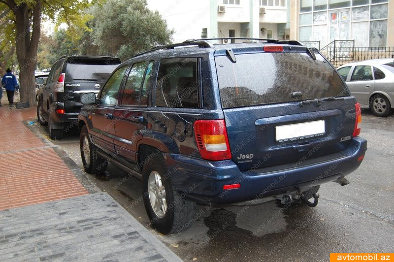 jeep grand cherokee second hand 2000 6800 diesel transmission automatic 310000 baku. Black Bedroom Furniture Sets. Home Design Ideas
