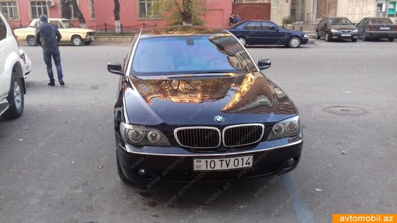 BMW 750 4.8(lt) 2008 İkinci əl  $16500