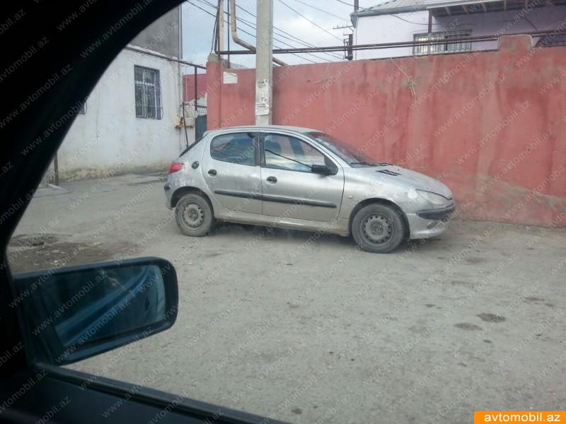 Peugeot 206 1.4(lt) 2001 İkinci əl  $2000
