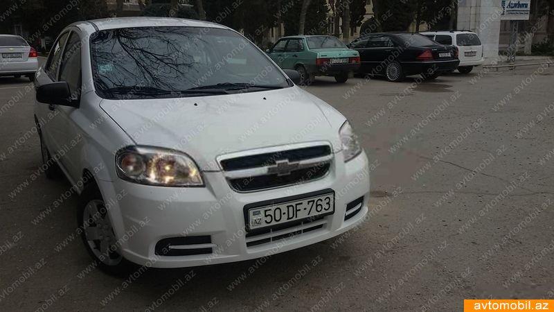 Chevrolet Aveo 1.2(lt) 2011 İkinci əl  $4500