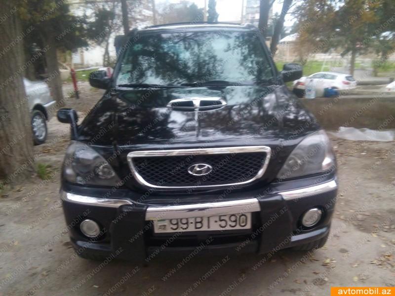 Hyundai Terracan 2.9(lt) 2003 İkinci əl  $12000