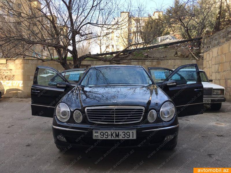 Mercedes-Benz E 240 2.6(lt) 2003 İkinci əl  $13500