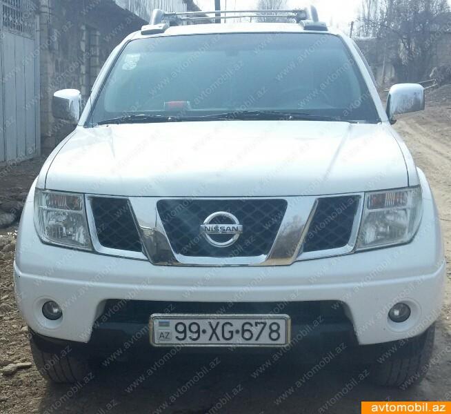 Nissan Navara 2.5(lt) 2008 İkinci əl  $13500