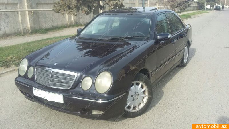 Mercedes-Benz E 220 2.2(lt) 2000 İkinci əl  $5500