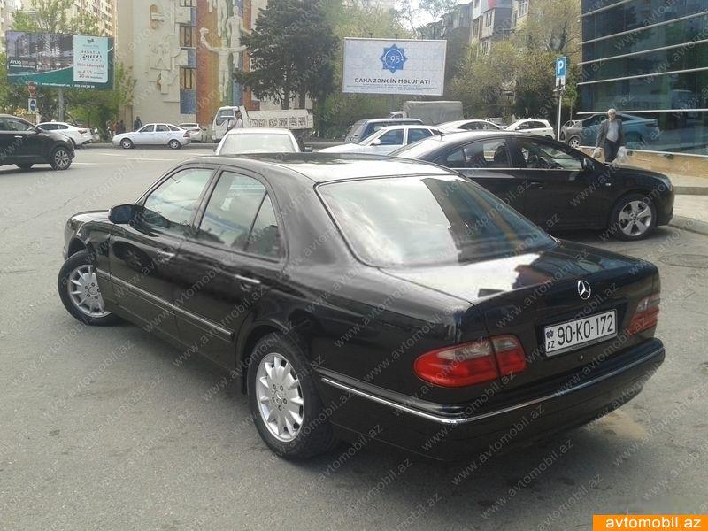 Mercedes benz e 240 kinci l 2000 6500 benzin s r t for Mercedes benz 6500