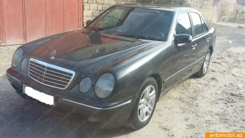 Mercedes benz e 220 elegance urgent sale second hand 2001 for Second hand mercedes benz
