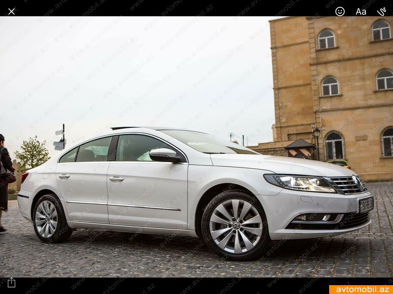 volkswagen passat cc second hand 2012 16500 gasoline transmission automatic 66000 baku. Black Bedroom Furniture Sets. Home Design Ideas