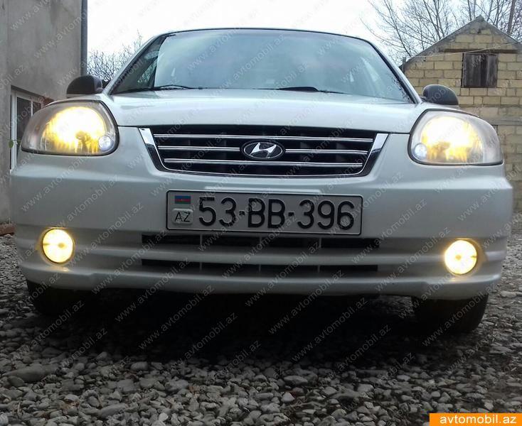 Hyundai Accent 1.5(lt) 2005 İkinci əl  $3800