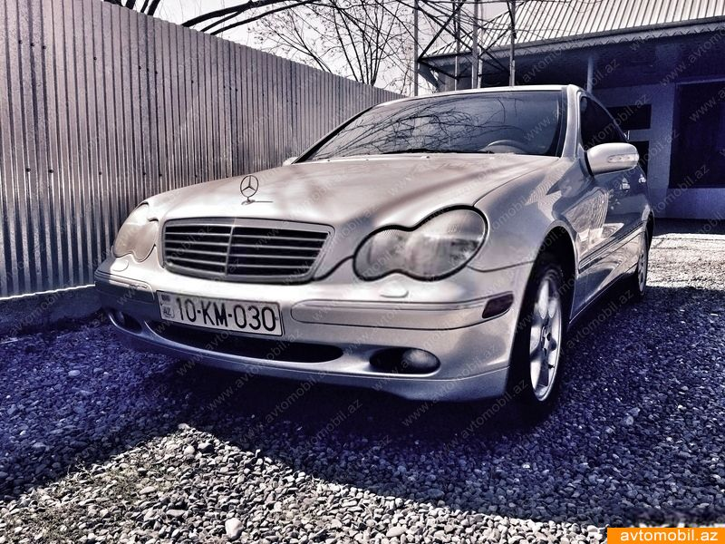 Mercedes benz c 240 second hand 2002 5200 gasoline for Mercedes benz second