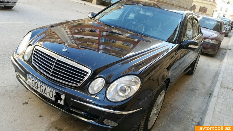 Mercedes-Benz E 220 2.2(lt) 2004 İkinci əl  $7700