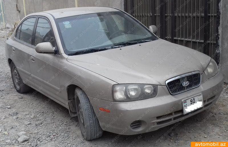 Hyundai Elantra 2.0(lt) 2002 İkinci əl  $4400
