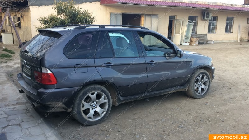 BMW X5 3.0(lt) 2003 Second hand  $11000
