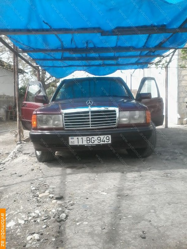 Mercedes benz 190 avantgarde second hand 1991 2400 for Mercedes benz second
