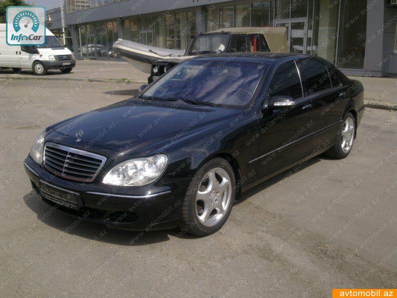 Mercedes-Benz S 430 4.3(lt) 2000 Подержанный  $10000
