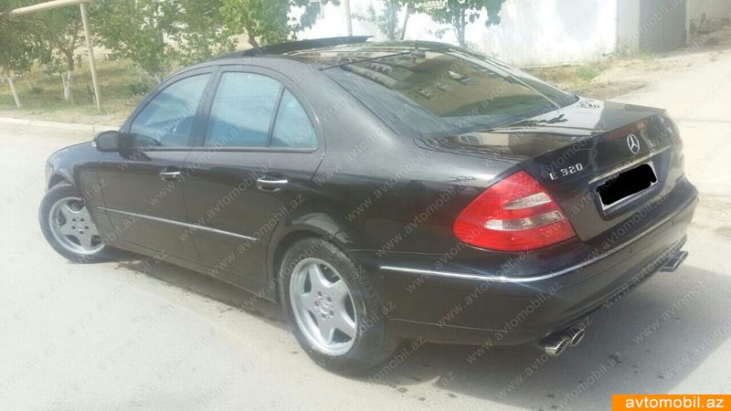 Mercedes-Benz E 320 3.2(lt) 2002 İkinci əl  $7400