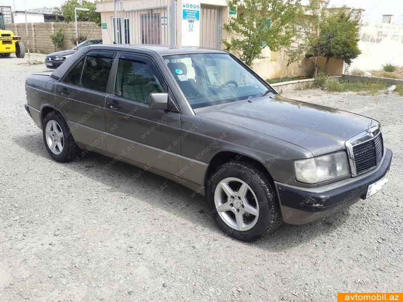Mercedes benz 190 second hand 1992 3400 gasoline for Mercedes benz 2nd hand