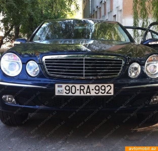 Mercedes-Benz E 260 2.6(lt) 2003 Second hand  $7200