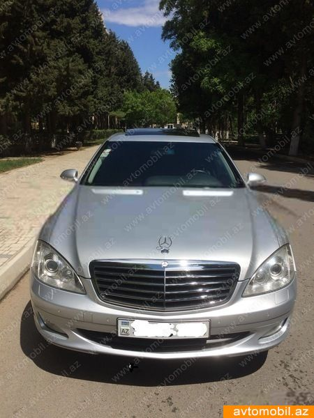Mercedes benz s 350 second hand 2006 14100 gasoline for Mercedes benz second