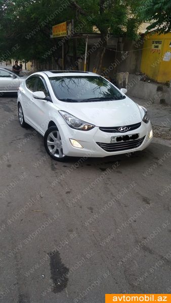 Hyundai Elantra 1.8(lt) 2013 İkinci əl  $18700