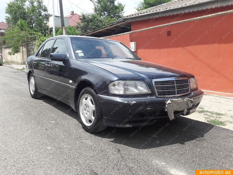 Mercedes benz c 200 second hand 1998 4100 gasoline for Mercedes benz second