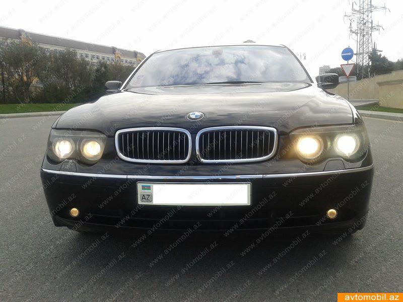 BMW 745 4.4(lt) 2004 Подержанный  $16000