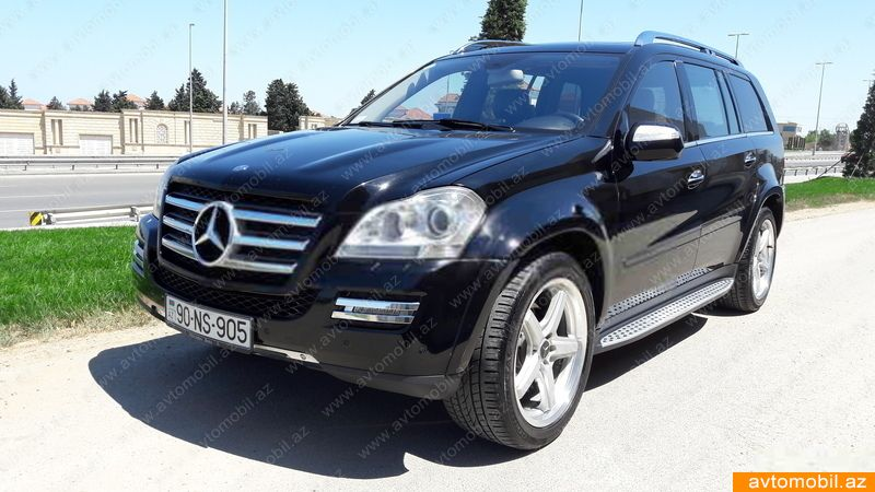 Mercedes benz gl 550 second hand 2009 24000 gasoline for Mercedes benz second