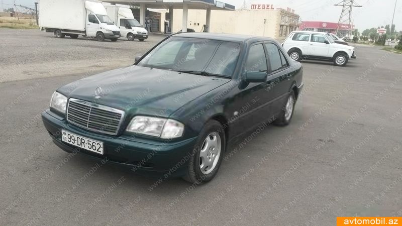 Mercedes benz c 200 second hand 1998 4800 gasoline for Mercedes benz 2nd hand