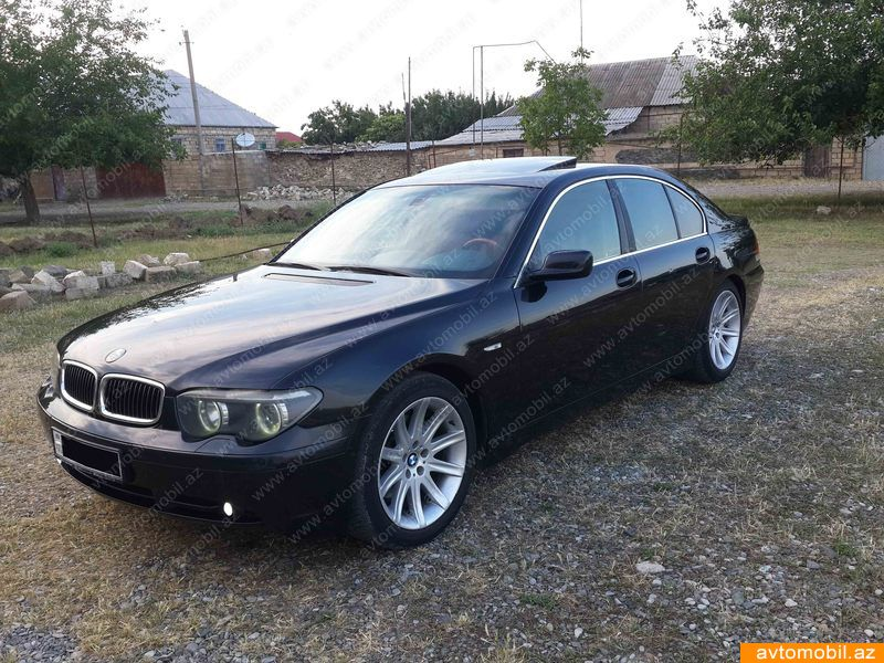 BMW 745 4.4(lt) 2002 Second hand  $10500