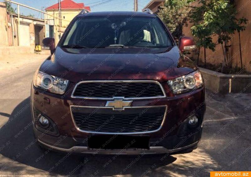 Chevrolet Captiva 2.4(lt) 2015 İkinci əl  $19000